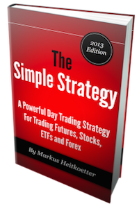 "Day Trading eBook ""The Simple Strategy"" by Markus Heitkoetter"