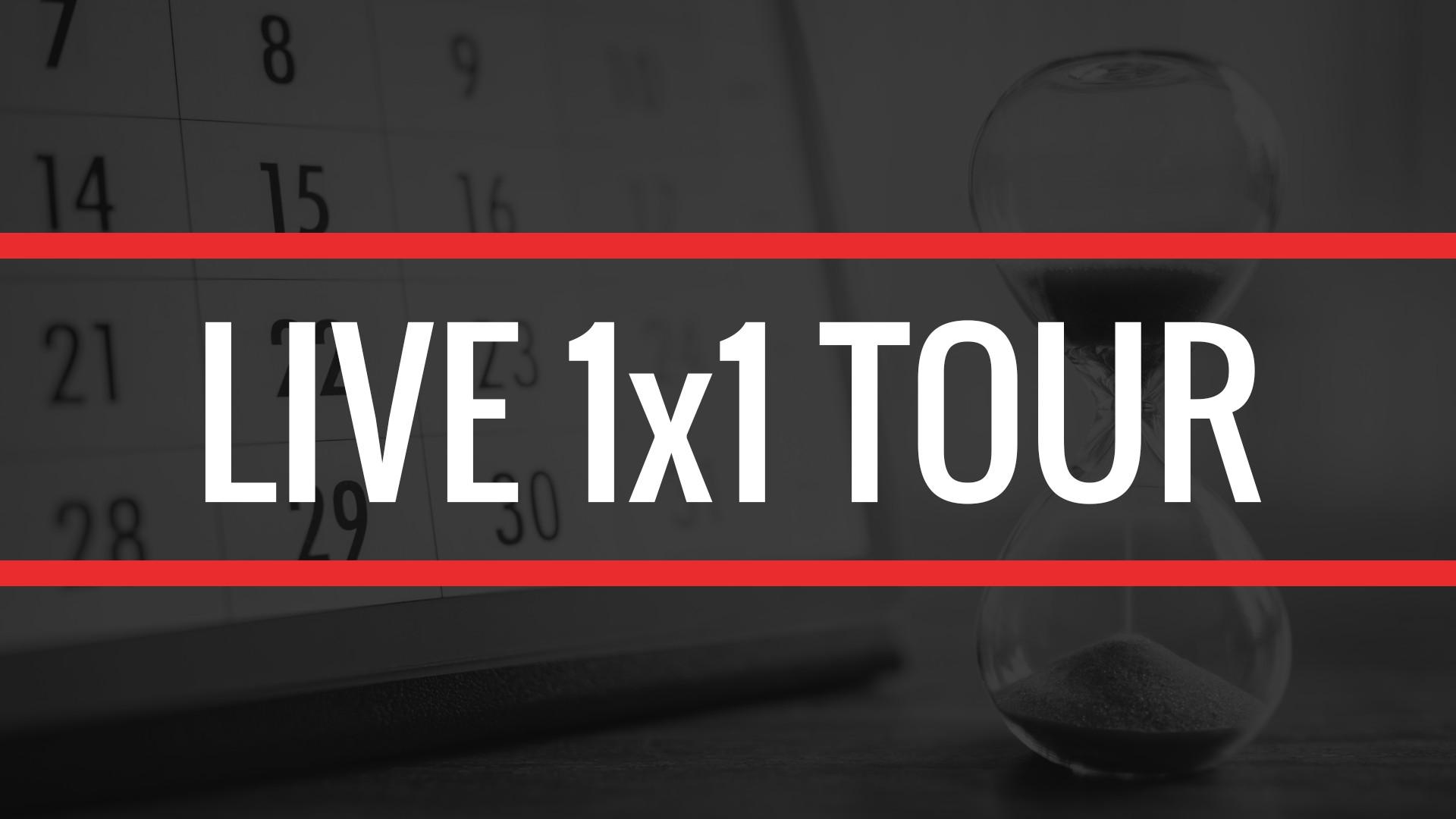 SCHEDULE 1X1 TOUR