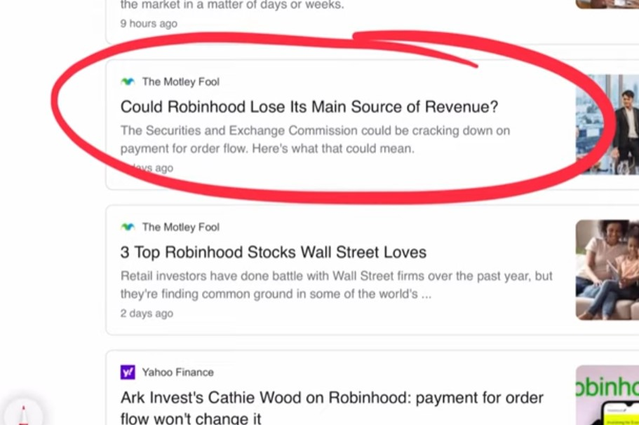 Could Robinhood lose its main source of revenue
