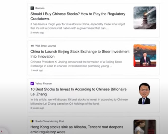 investing in China stock