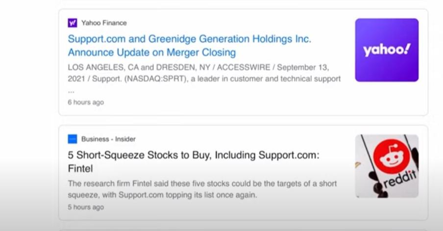 SPRT stock