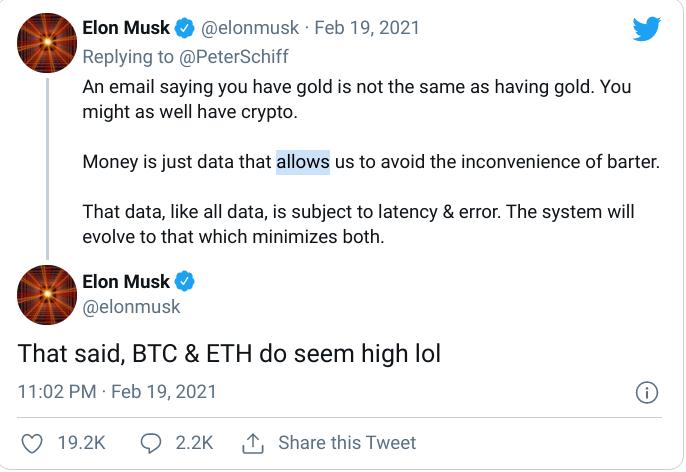 Elon Musk Tweets