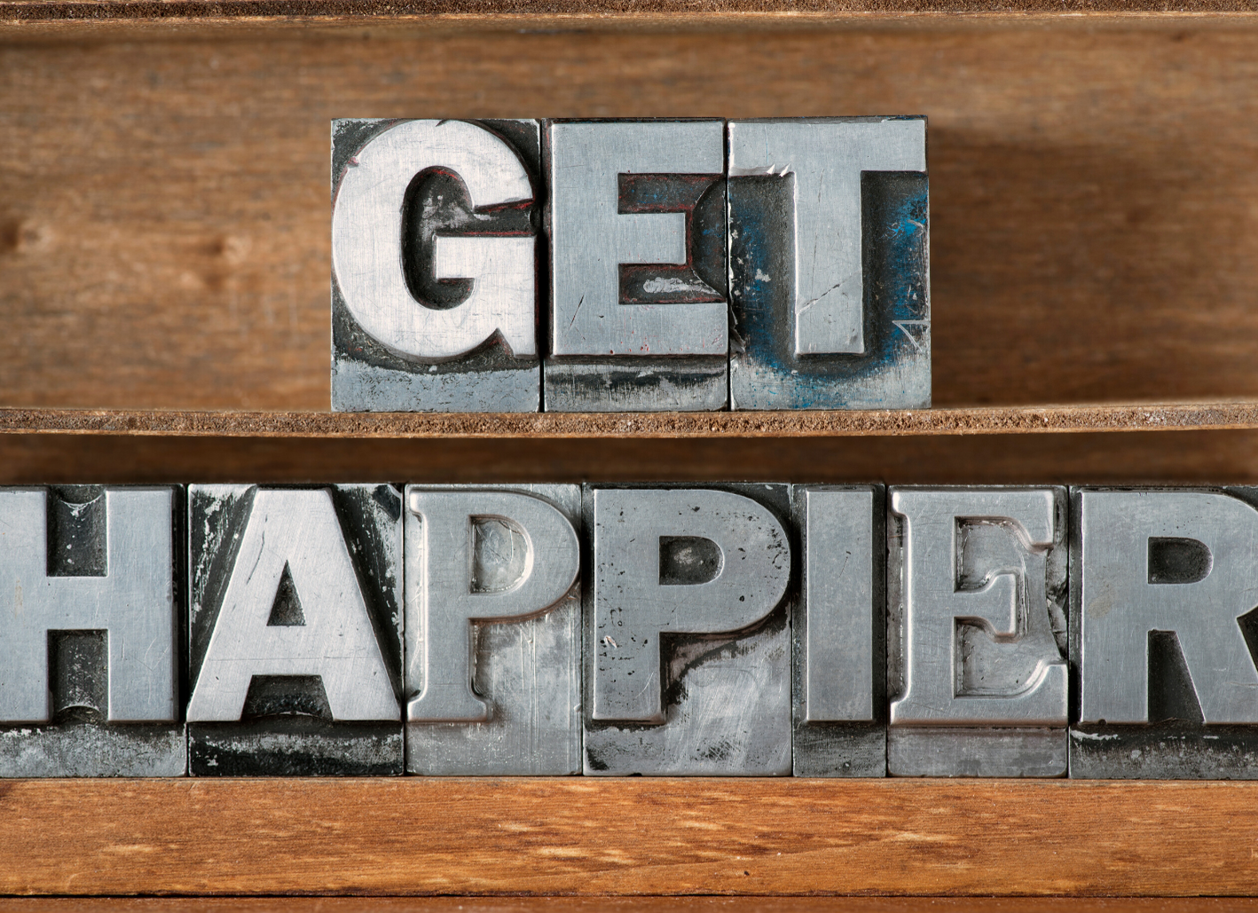 how to be happier and less stressed